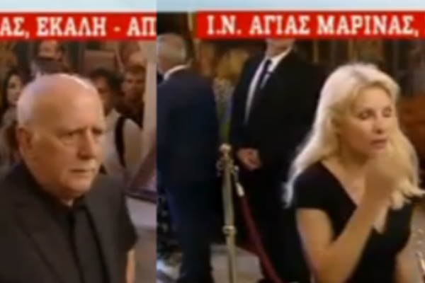 Κηδεία Μίνωα Κυριακού: Λύγισε η Άλκηστις Μαραγκουδάκη! Η απλή Μενεγάκη και οι συντετριμμένοι συνεργάτες (video)