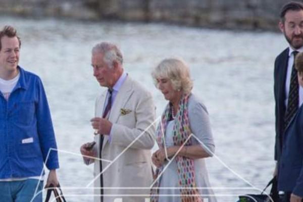 Παραμυθένιες διακοπές στο μαγευτικό τους σκάφος για Κάρολο και Καμίλα στην Χαλκιδική! (photos)