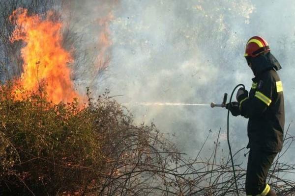 Συμβαίνει τώρα: Φωτιά στην Άρτα