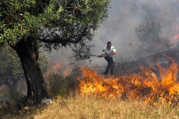 ΕΚΤΑΚΤΟ: Μεγάλη φωτιά σε τουριστική περιοχή κοντά στην Αθήνα - Δυνατές εκρήξεις αναστάτωσαν τους κατοίκους!