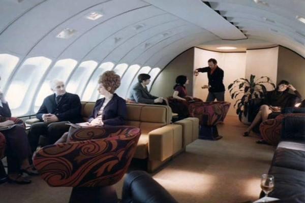 Επιστροφή στο παρελθόν: Δείτε πως ήταν το εσωτερικό ενός αεροπλάνου το 1970; (Photo)