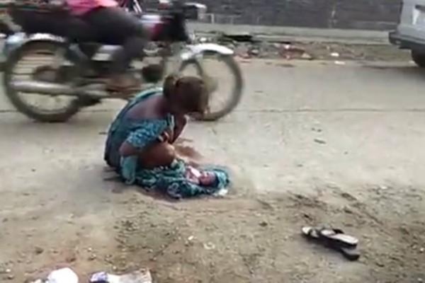 Σοκαριστικό video με 17χρονη να γεννά στην μέση του δρόμου: Την έδιωξαν από το μαιευτήριο επειδή δεν είχε συνοδό!