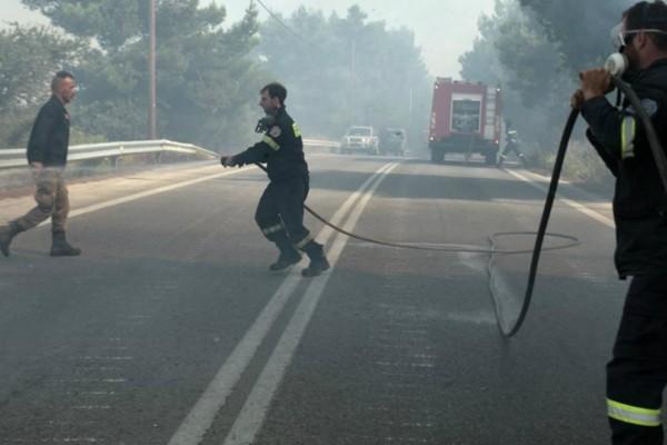 Δραματικό SOS: «Η φωτιά είναι ασύλληπτη, κατεβαίνει με τεράστια ταχύτητα προς Μαλακάσα»
