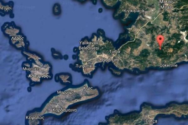 Ισχυρός σεισμός ταρακούνησε τα Δωδεκάνησα!