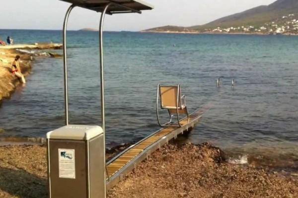 Επιτέλους! Σε λειτουργία τέθηκε το Seatrack στην παραλία «Πλάκες» Κατακόλου