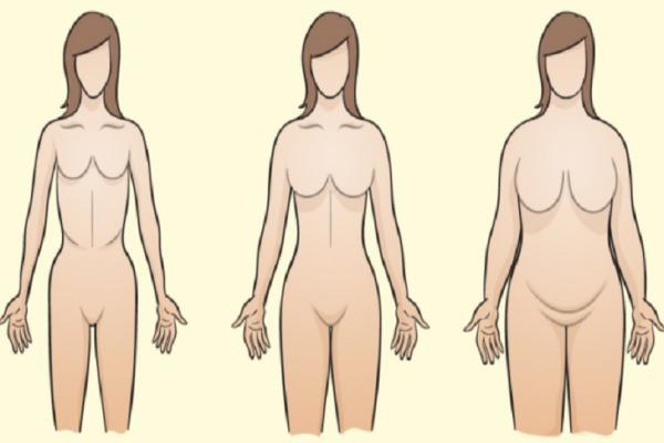 Οι τρεις τύποι σώματος και πως καθορίζουν το βάρος σας - Για τον 3ο δεν είχαμε ιδέα!