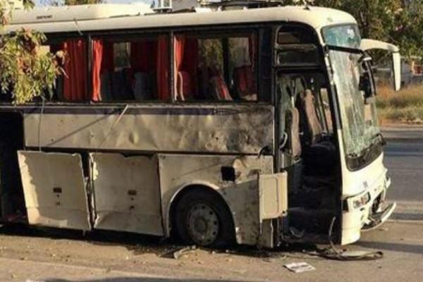 Εκρηξη βόμβας στη Σμύρνη - 8 τραυματίες σε τουριστικό λεωφορείο (Photos)