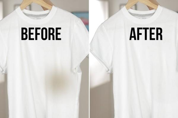 Πώς να αφαιρέσεις από τα ρούχα σου τον λεκέ από λάδι!