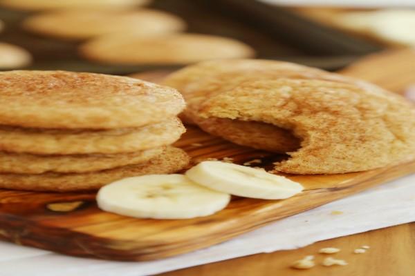 Φτιάξτε μόνες νοστιμότατα μπισκότα μπανάνας χωρίς ίχνος ζάχαρης!