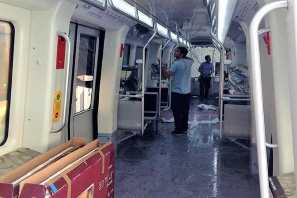 Έτσι είναι το εσωτερικό των βαγονιών του μετρό της Θεσσαλονίκης (video)
