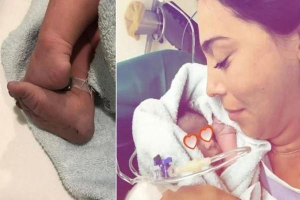 """""""Επιτέλους αγκαλιά"""": Το βίντεο της Ολυμπίας Χοψονίδου με την νεογέννητη κόρη της που έχει """"ραγίσει"""" το διαδίκτυο!"""