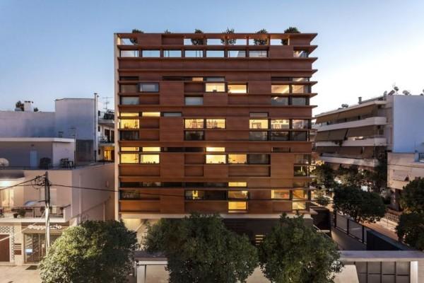 Που βρίσκεται η βραβευμένη πολυκατοικία της Αθήνας; (photos)