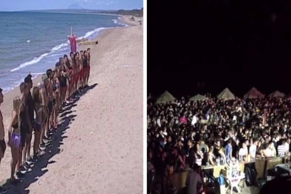 Ποιο Survival Secret; Δείτε τι γίνεται στην παραλία της Κουρούτας μια κλασική νύχτα του καλοκαιριού! (video)