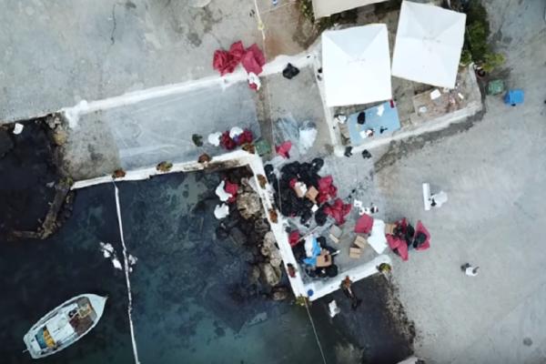 Η ανυπολόγιστη οικολογική καταστροφή στον Σαρωνικό έτσι όπως την κατέγραψαν drone! (Video)