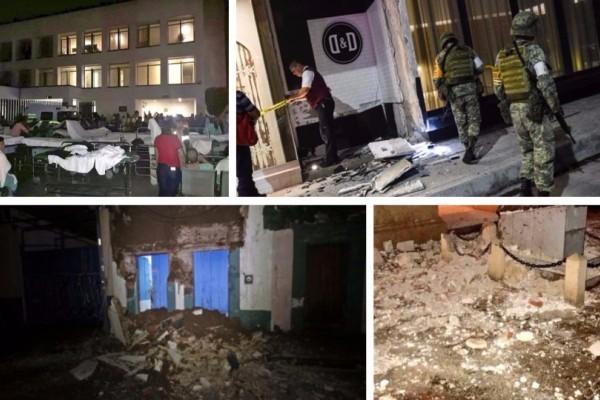 Φονικός σεισμός στο Μεξικό: Αυξάνεται ο αριθμός των νεκρών, δεκάδες τραυματίες! (photos+videos)