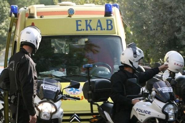 Ακόμη ένα τροχαίο ατύχημα στην Κρήτη - Σε σοβαρή κατάσταση ένας μοτοσικλετιστής