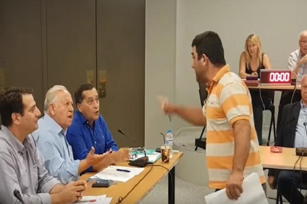 Χαμός σε δημοτικό συμβούλιο της Κεφαλονιάς! - Η επεισοδιακή συνεδρίαση με τους καυγάδες και τα... γαλλικά! (Video)