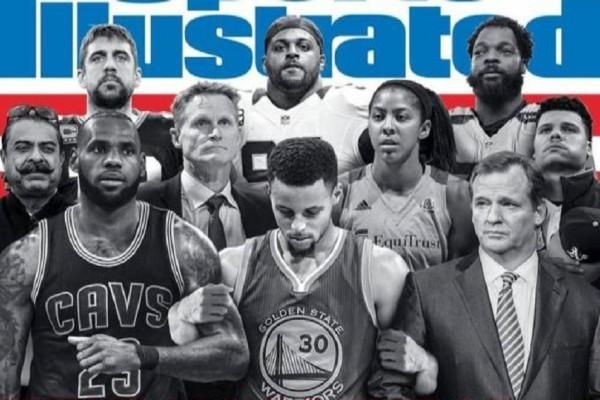 Κορυφαίοι αθλητές ενώνονται ενάντια στον Ντόναλντ Τραμπ! - Φωτογραφήθηκαν για το εξώφυλλο του Sports Illustrated (Photo)