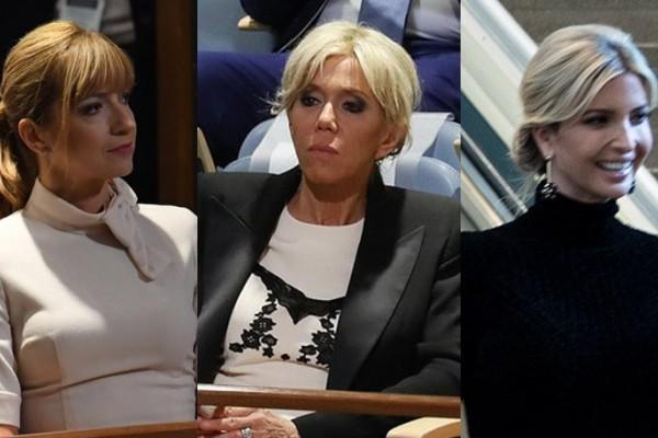 Μελάνια, Ιβάνκα & Μπριζίτ στη Γενική Συνέλευση του ΟΗΕ: Τι επέλεξαν να φορέσουν;