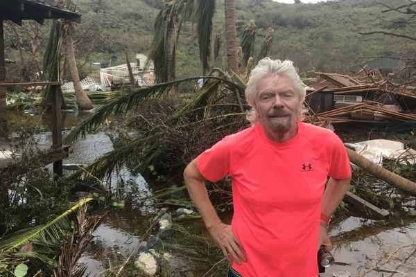 Φωτογραφίες- σοκ: Ο τυφώνας «Ίρμα» κατέστρεψε τον ιδιωτικό παράδεισο του Ρίτσαρντ Μπράνσον!