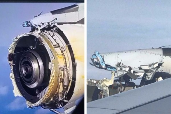 Τρόμος σε πτήση της Air France: Εξερράγη ο κινητήρας A380 πάνω από τον Ατλαντικό! (photos)