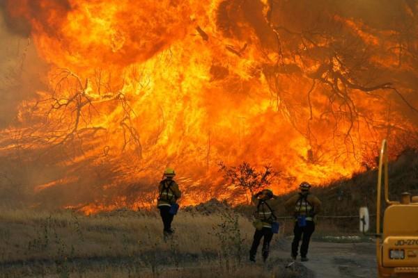 Πολύ υψηλός ο κίνδυνος πυρκαγιάς και αύριο: Ποιες περιοχές κινδυνεύουν!