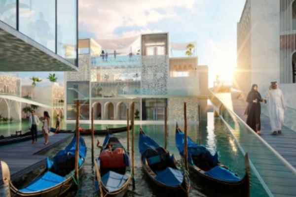 Ο απόλυτος προορισμός που προκαλεί ίλιγγο: Μια πλωτή Βενετία στο... Ντουμπάι! (Photos)