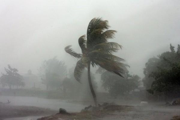 Αυτό θα πει άγνοια κινδύνου: Άντρας πλένει το αυτοκίνητό του κατά την διάρκεια του τυφώνα Ίρμα! (Video)