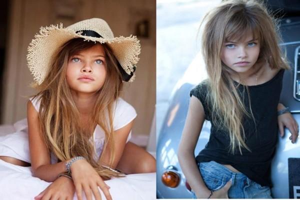 Το πιο όμορφο κορίτσι στον κόσμο μεγάλωσε και εντυπωσίασε στην πρώτη του βόλτα στην πασαρέλα (photos)