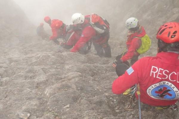 Επιχείρηση διάσωσης έχει στηθεί στο Όρος Τύμφη: Σε κίνδυνο δυο ορειβάτες!
