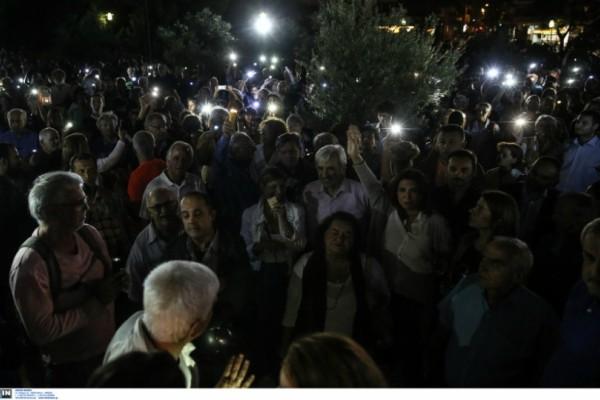 Πεδίον του Άρεως: Πρωτότυπη διαμαρτυρία κατοίκων με φαναράκια ενάντια στην γκετοποίηση της περιοχής! (photos)