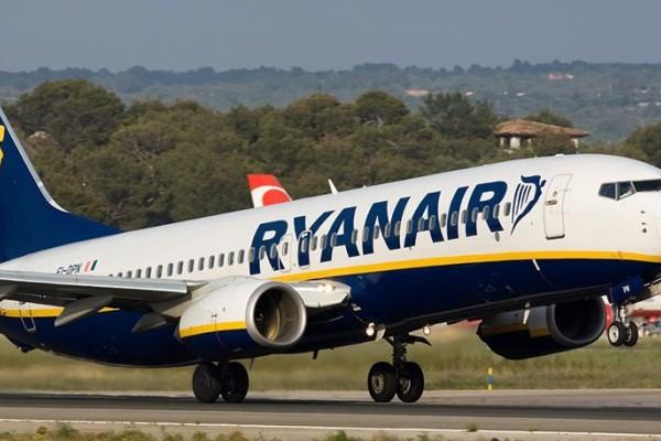 Δώστε προσοχή: H Ryanair ακυρώνει 2,000 πτήσεις μέχρι τον Οκτώβριο!