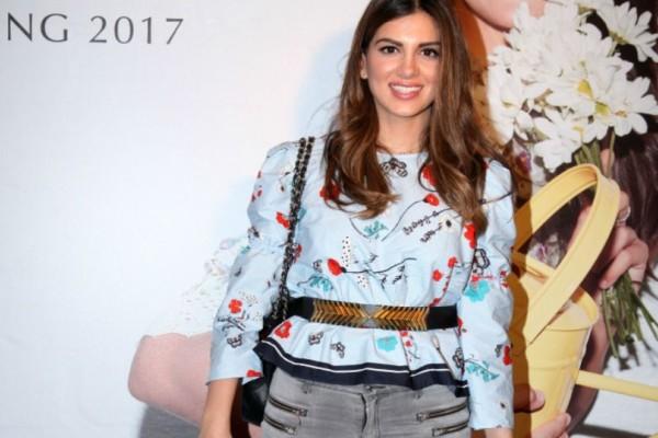 Τα καλύτερα μποτάκια των Zara τα φόρεσε η Σταματίνα Τσιμτσιλή και τα συνδύασε υπέροχα