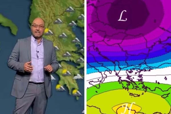 Ψύχρα: Τι καιρό θα κάνει τον Οκτώβριο; Ο Σάκης Αρναούτογλου προειδοποιεί!