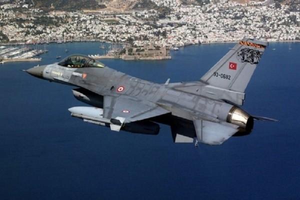 Νέες τουρκικές προκλήσεις με το... «καλημέρα»! - F-16 πέταξαν πάνω από το Φαρμακονήσι