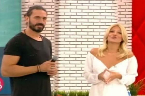 H κούκλα σύντροφος του Δημήτρη Μακρυνιώτη είναι αδερφή πασίγνωστου Έλληνα τραγουδιστή! Δείτε την για πρώτη φορά