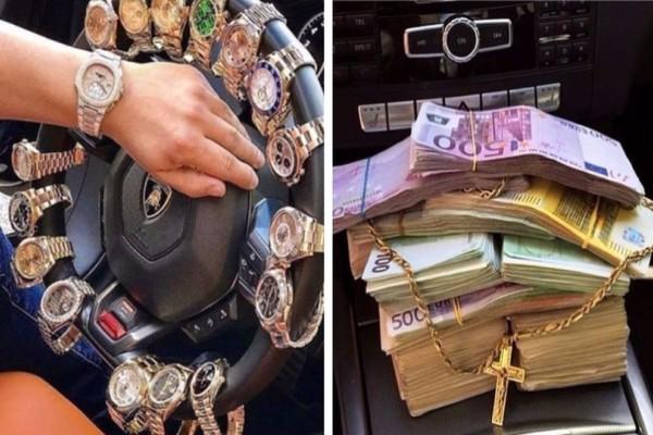 Τα πλουσιόπαιδα από τα Τίρανα που προκαλούν στο Instagram! Τα 500 ευρα και τα πανάκριβα ρολόγια (photos)