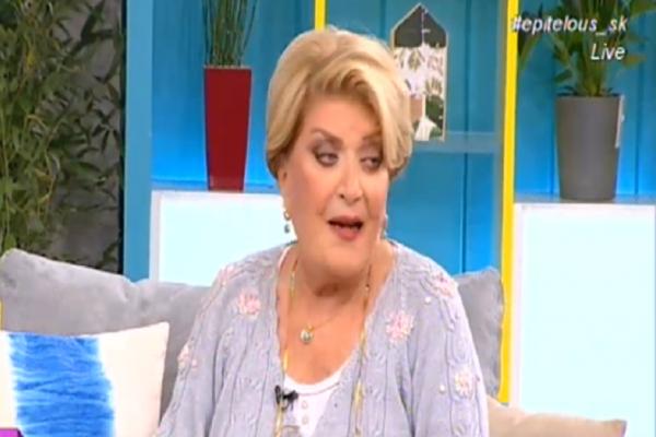 H Βάσια Τριφύλλη «την είπε» on air στη Ναταλία Γερμανού: «Σε παρακαλώ σκάσε... »!
