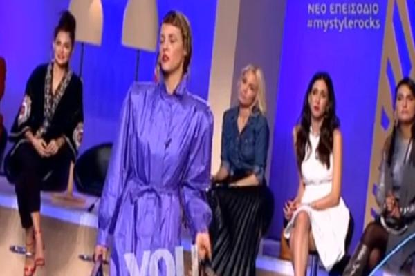 My style rocks: Η Ραμόνα «ξαναχτύπησε»! - Η νέα διαφωνία με την κριτική επιτροπή και τα ξεκαρδιστικά σχόλια! (Video)