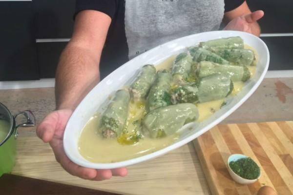 Συνταγή της μαμάς: Γεμιστά κολοκυθάκια αυγολέμονο!
