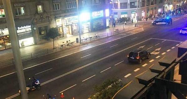 Μαδρίτη: Εκκενώθηκε κεντρικός δρόμος λόγω ύποπτου οχήματος!