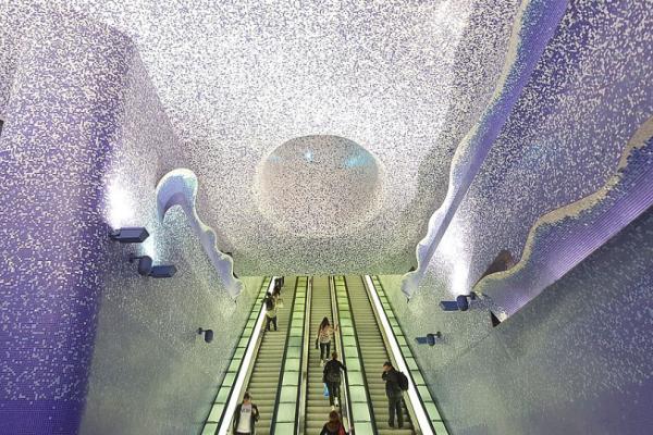 Οι 7 πιο όμορφοι σταθμοί του μετρό στον κόσμο - Εκπληκτικές φωτογραφίες!