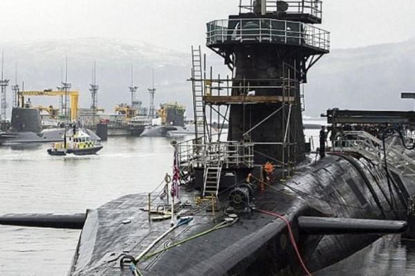 Σκάνδαλο στο Βρετανικό ναυτικό: Όργια σε υποβρύχια με πυρηνικά!