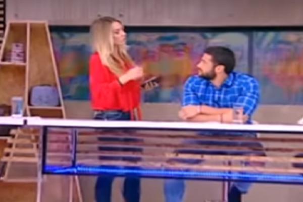 Χαμός στον αέρα του «Εδώ» με Βασάλο και Ντορέττα! - Η απίστευτη ατάκα της παρουσιάστριας! (Video)