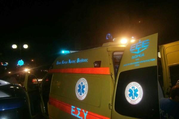 Θεσσαλονίκη: Αυτοκίνητο παρέσυρε και τραυμάτισε πεζό (photos)