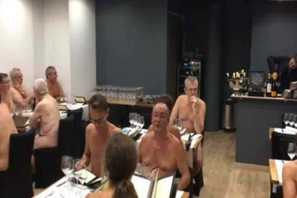 Αλήθεια τώρα; Άνοιξε το πρώτο εστιατόριο γυμνιστών! (video)