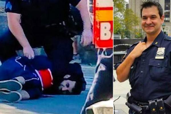 Ένας πραγματικός ήρωας: Ο ομογενής αστυνομικός αφόπλισε τον ισλαμιστή τρομοκράτη στο Μανχάταν (Photos)