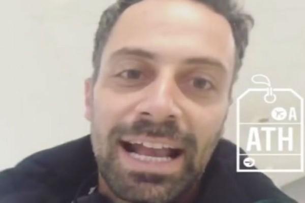 Nomads: Έφτασε στην Ελλάδα ο Λευτέρης Χατζηιωάννου! Το μήνυμα του μετά την αποχώρηση!