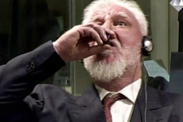 Πέθανε ο Κροάτης που ήπιε το δηλητήριο στο Διεθνές Ποινικό Δικαστήριο στη Χάγη