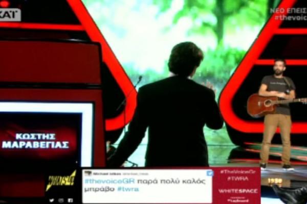 The Voice: Παραλίγο να κατουρηθεί πάνω του ο Μαραβέγιας, ζητώντας να διακοπεί το γύρισμα… Αυτό που ακολούθησε δεν υπάρχει! (video)